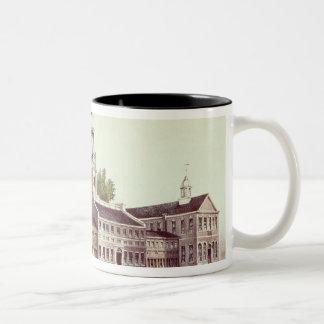 Independence Hall, Philadelphia Two-Tone Coffee Mug