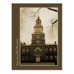Independence Hall Post Cards