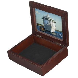 Independence in Cozumel Monogrammed Keepsake Box
