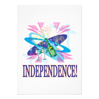 Independence Invitations
