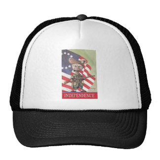 Independence Mouse Trucker Hats