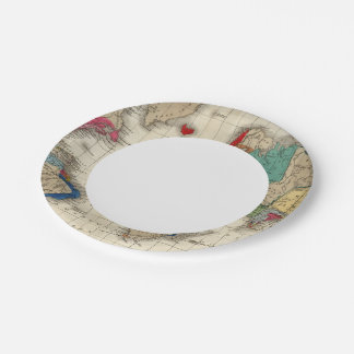 Independence of The United States 1783 AD 7 Inch Paper Plate