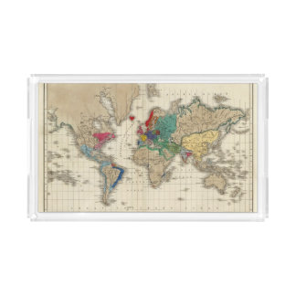 Independence of The United States 1783 AD Acrylic Tray