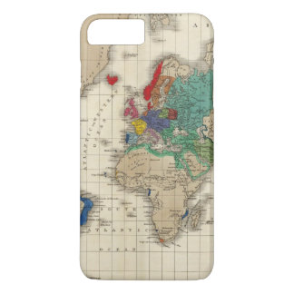 Independence of The United States 1783 AD iPhone 8 Plus/7 Plus Case