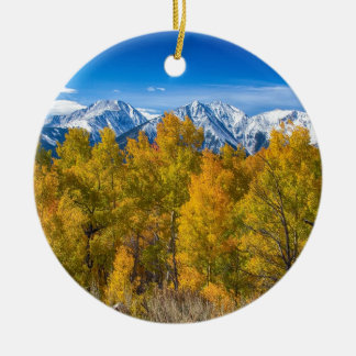 Independence Pass Autumn View Christmas Ornament