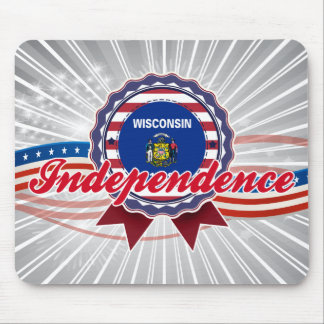 Independence, WI Mousepads