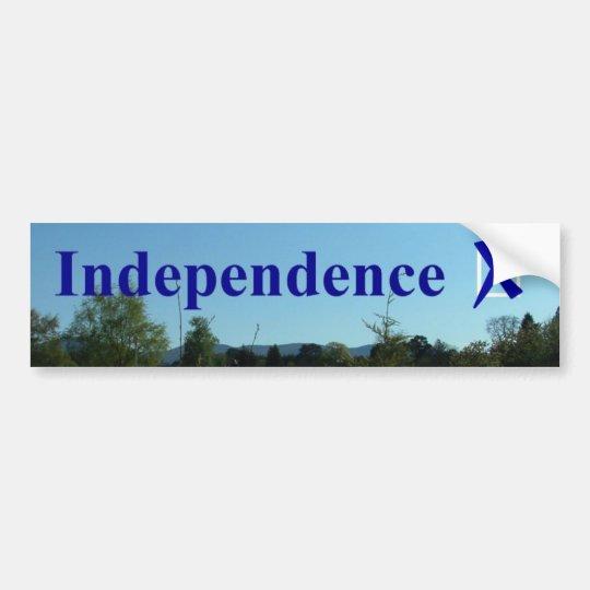 IndependenceX Bumper Sticker