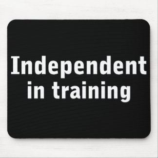Independent in training mouse pad