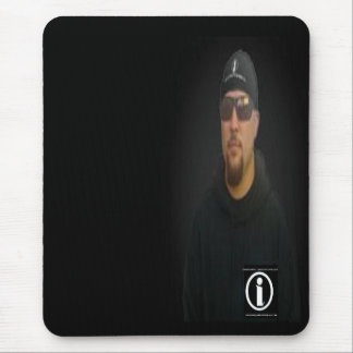 independent lawncare shop owner mouse pad