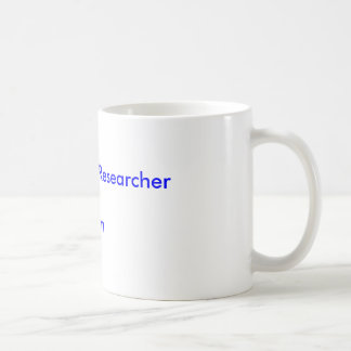 Independent Researcherof Islam Basic White Mug