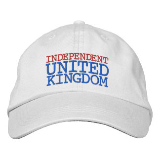 INDEPENDENT UK EMBROIDERED BASEBALL CAPS