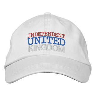 INDEPENDENT UK EMBROIDERED HATS