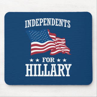 INDEPENDENTS FOR HILLARY MOUSE PAD