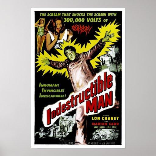 Indestructible Man Poster