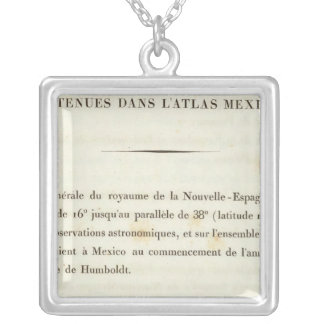 Index 1 New Spain Silver Plated Necklace