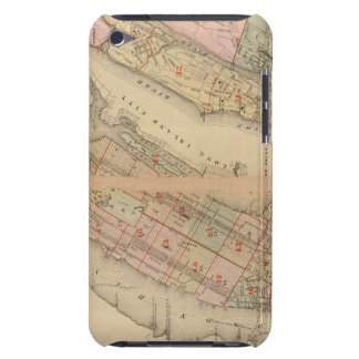 Index map Atlas, city of New York iPod Case-Mate Case