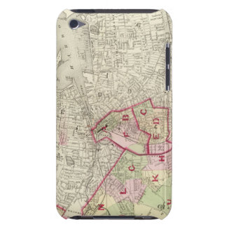 Index map iPod touch case