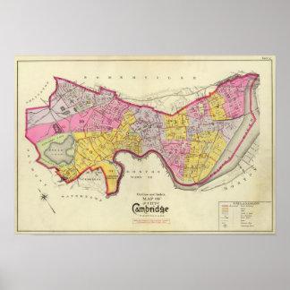 Index of Cambridge Atlas Poster