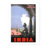 India-1927 Postcard