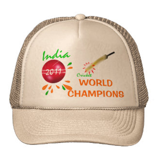 India 2011 ICC Cricket World Champions Hat