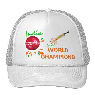 India 2011 ICC Cricket World Champions Hat