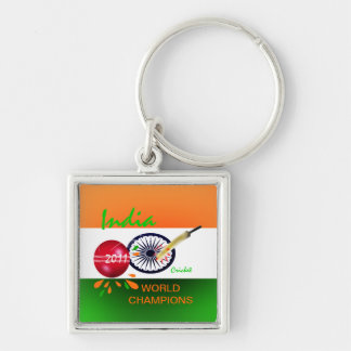 India 2011 ICC Cricket World Cup Champs Keychain