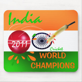 India 2011 ICC Cricket World Cup Champs Mousepad