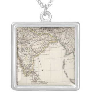 India 3 silver plated necklace