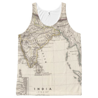 India 4 All-Over print tank top