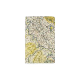 India 4 pocket moleskine notebook