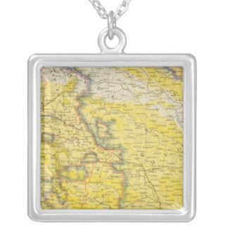 India 4 silver plated necklace