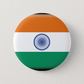 India 6 Cm Round Badge