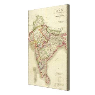 India 7 canvas print