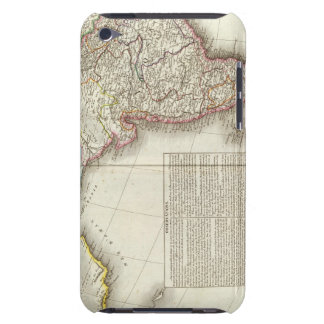 India and Asia Engraved Map iPod Touch Covers