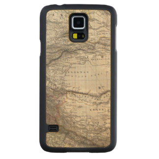 India and China Carved Maple Galaxy S5 Case