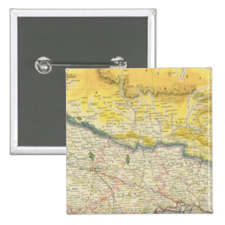 India and Nepal 15 Cm Square Badge