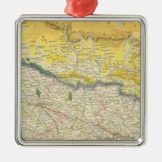 India and Nepal Christmas Ornament