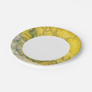 India and Pakistan 7 Inch Paper Plate