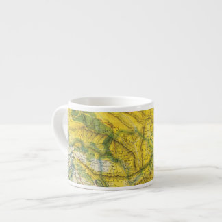 India and Pakistan Espresso Cup