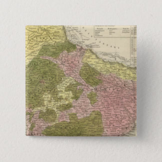 India and Sri Lanka 15 Cm Square Badge