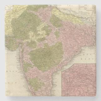 India and Sri Lanka Stone Coaster