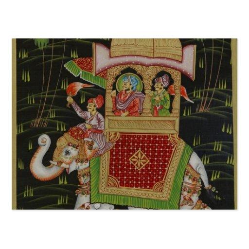 India Art Postcard