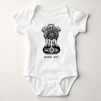 India Ashoka Chakra Baby Bodysuit