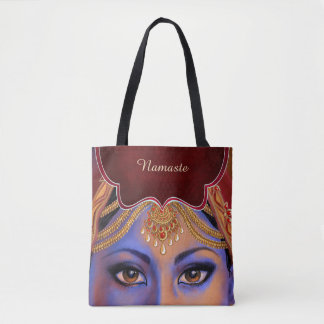 India: Bride Personalized Tote Bag