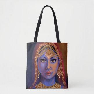 India: Bride Tote Bag