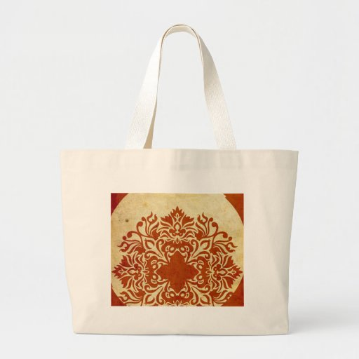 India Burnt Sunset Canvas Bags