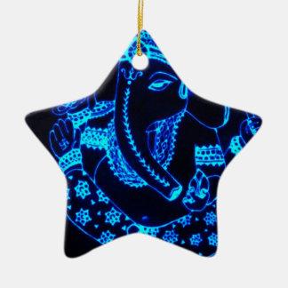 India Ceramic Star Decoration
