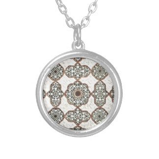 India Chic Pattern Necklace