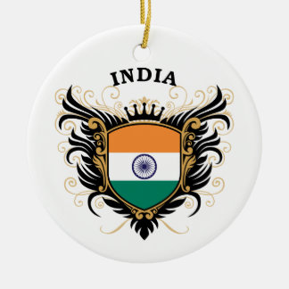 India Christmas Ornament