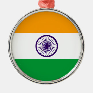 India country long flag nation symbol republic christmas ornament
